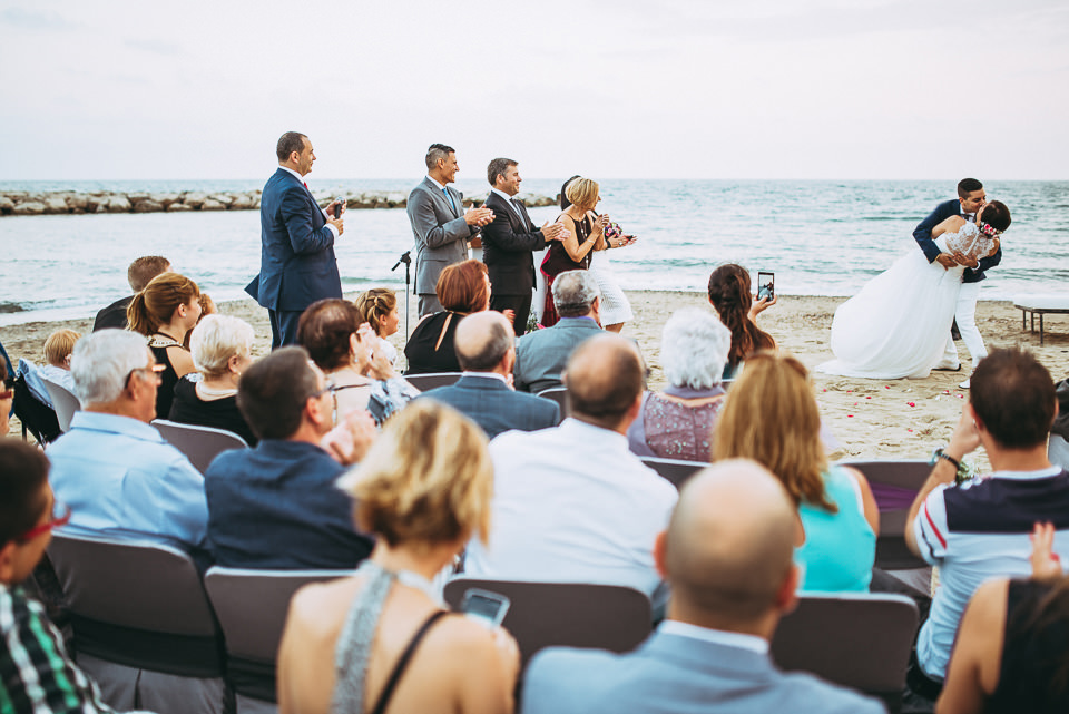 fotógrafo de boda playa cambrils