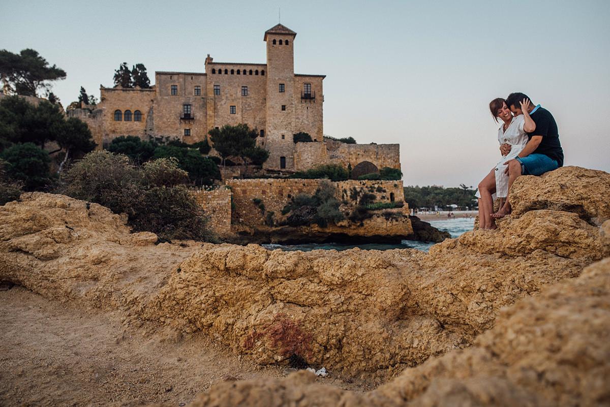 preboda en el castillo de tamarit